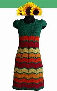 Vestido Iana (crochê. Tamanho 38/40)