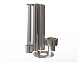 Kit Simples Instalação 110mm Inox