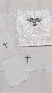 Kit Viático ou kit ministro para levar a Santa Eucaristia para enfermos - Espírito Santo ES