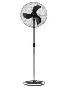 Ventilador de Coluna 65 cm Preto com Grade Preta