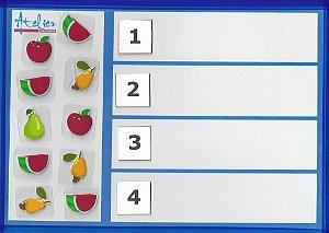 Quantidade / Numeral 1 a 4