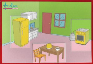 Partes de casa / Percepção - Cozinha
