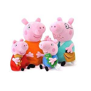 Pelúcia Família Peppa Pig