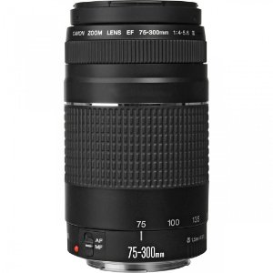 Lente Zoom Telefoto Canon Ef 75-300mm F/4-5.6 Iii
