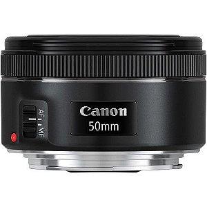 Lente Canon Ef 50mm F/1.8 Stm Segunda Geração