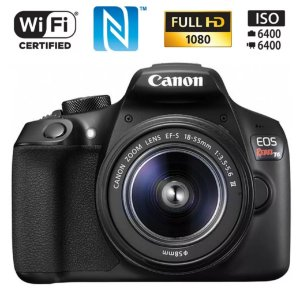 Canon T6 18-55mm wi-fi Nfc