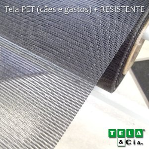 Tela Mosquiteira PET + Resistente - p/ Metro