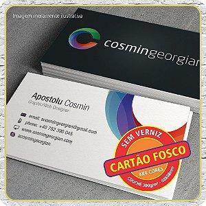 Cartão Fosco ( Sem Verniz ) - 4X4