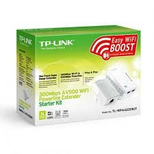 Powerline Extender AV500 Wifi  300 mbps Starter kit