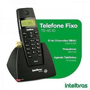 APARELHO TELEFONICO S/ FIO TS 40 ID