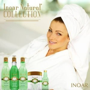 Linha Inoar Natural Collection Oil Capim Santo