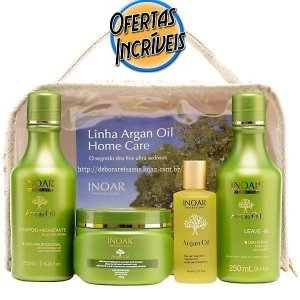 Argan Oil Home Care Kit (4 Produtos)