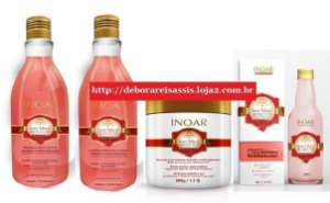 Kit Inoar Natural Oil Rosa Imperial - 4 Produtos