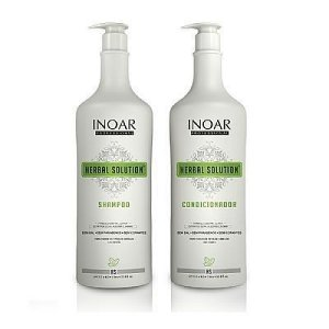 Kit Shampoo e Condicionador Herbal Solution 1000ml