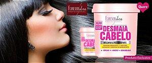 Forever Liss Máscara Ultra Hidratante Desmaia Cabelo leve 350 gr pague 240gr