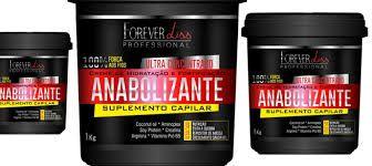 Forever Liss Professional Anabolizante Capilar - Creme de Hidratação 240g