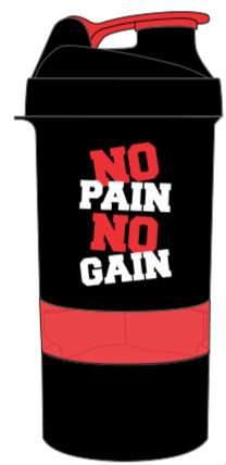 COQUETELEIRA 500ML 3 DOSES NO PAIN NO GAIN