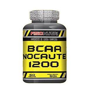 BCAA NOCAUTE 1200 60 TABS - FISIONUTRI