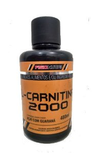 L-CARNITINA 2000- 480ml- FISIONUTRI