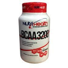 BCAA 3200 60 CÁPSULAS NUTRI HEALTH