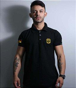 Camiseta Gola Polo Spezialkräfte Alemanha Bordada
