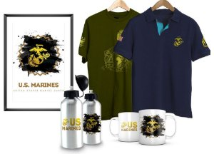Kit Militar US Marines EUA Team Six
