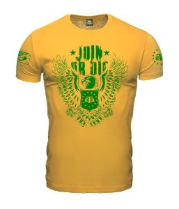 Camiseta  Concept Join Or Die Team Six Brasil