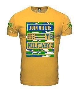 Camiseta Concept Camu Join Or Die Team Six Brasil
