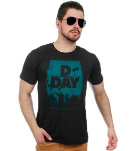Camiseta Militar Segunda Guerra Mundial D - DAY