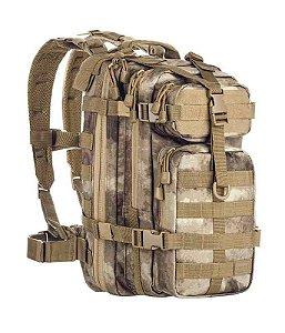Mochila Militar Tática Assault Camuflado A-Tacs AU Invictus