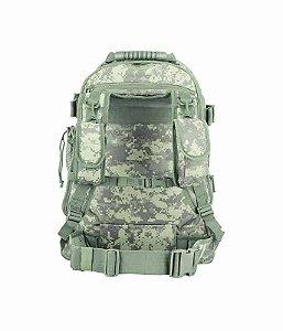Mochila Militar Tática Duster Camuflado Digital ACU Invictus