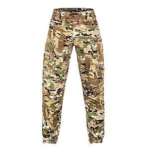 Calça Militar Tática Combat Camuflado Multicam ACU  Invictus