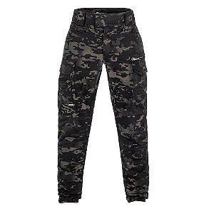 Calça Militar Tática Combat Camuflado Multicam Black Invictus