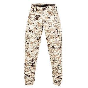 Calça Militar Tática Guardian Camuflada Digital Deserto Forcas Especiais Invictus