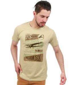 Camiseta Vintage Adventure Team Six