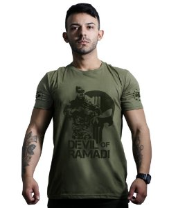 Camiseta Devil Of Ramadi Tribute Chris Kyle