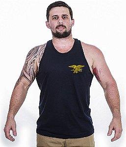Camiseta Regata Militar Original Navy Seals