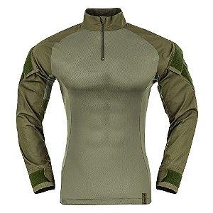 Combat Shirt Verde Oliva Raptor Invictus