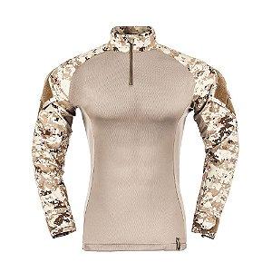 Combat Shirt Camuflado Digital Deserto Raptor Invictus