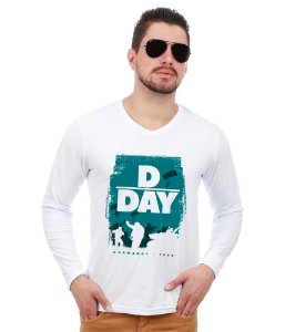 Camiseta Manga Longa Segunda Guerra Mundial D - DAY