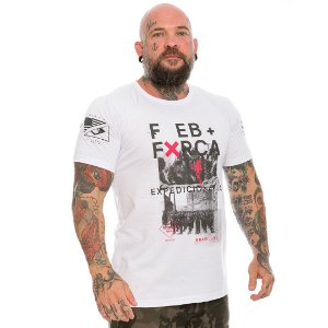 Camiseta Militar FEB força expedicionária brasileira Team Six