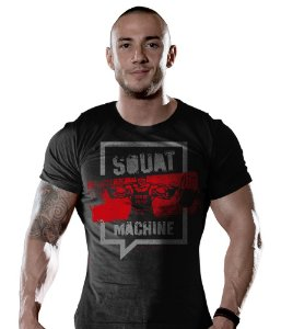 Camiseta Academia Squat Machine