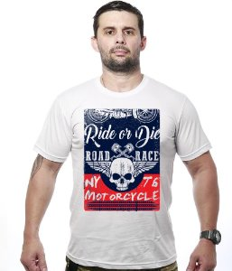 Camiseta Motorcycle T6 Road Race