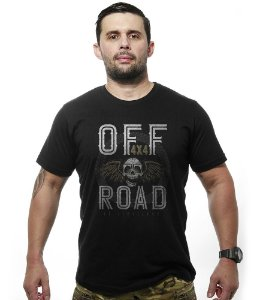 Camiseta Off Road 4x4 Skull Fly