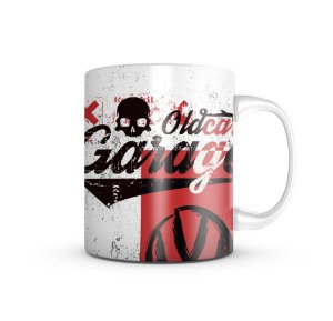 Caneca Fusca Clube T6 Old Cars 325ML