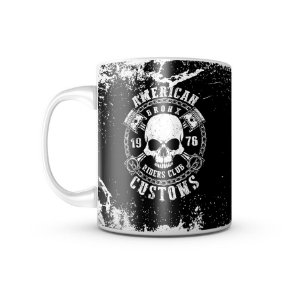 Caneca Bronx Riders Club 1976 - 325ML