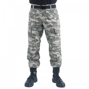 Calça Tática 6 Bolsos Camuflada Army Combat Marca Bravo