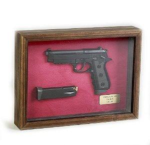 Quadro Retro Pistola PT 100 Taurus Calibre 40