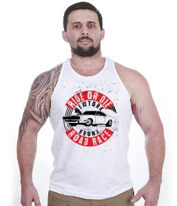 Camiseta Regata Old Cars Ride Or Die Bronx