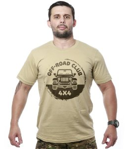 Camiseta Off Road Club 4x4